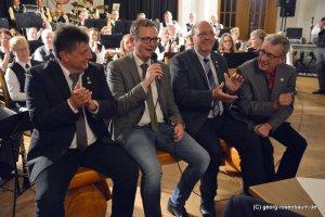 Uwe Kaufhold, Tobias Averbeck, Franz Hölscher und Hubert Thume sind sich einig.